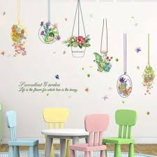 3d wall stickers flower wall paper