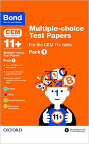 multiple test bond 11 multiple choice test papers for the cem 11 tests pack 1
