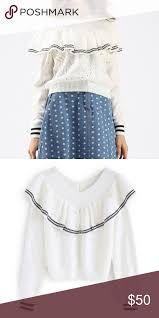 Nwt Chicwish Off Shoulder Pearl Sweater M Please Refer To