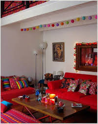 Living Room Lively Mexican Style Living Room Mexican Style