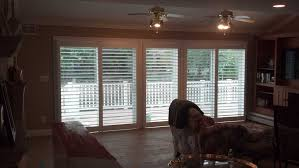 shutters for sliding glass doors large
