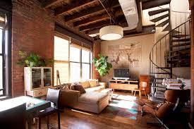 contemporary furniture warehouse Living Room Industrial with beige chaise lounge beige