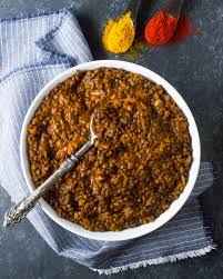 curried lentil stew from soupaddict