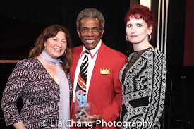Maria Banks, Andre De Shields and Wendy Lane Bailey. Photo by Lia Chang-186  | Backstage Pass with Lia Chang