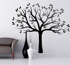 tree silhouette wall sticker