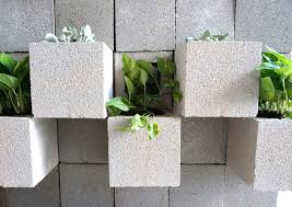 Small Picture A DIY Cinder Block Succulent Wall with a Twist