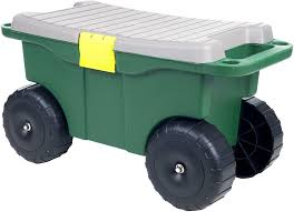 best rolling garden cart with seat oh
