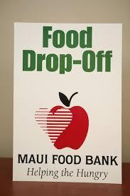 Food Drive Posters Hold A Food Drive Maui Food Bank