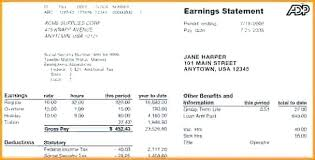 Statement Of Earnings Template Earnings Statement Template Retained Excel Examples Accounting