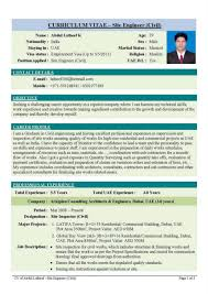Civil Engineer Resume Format Free Download Stunning Civil Engineer Resume Format Free Download Ideas Entry 1