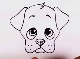 Small Picture How to Draw a Puppy Face Adorable Puppy Drawing Lesson Step by Step