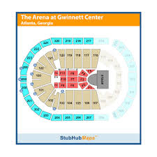 Infinite Arena Duluth Seating Chart Infinite Energy Center Infinite Energy Arena Events And