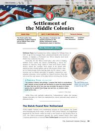 Puritans And Quakers Venn Diagram Settlement Of The Middle Colonies