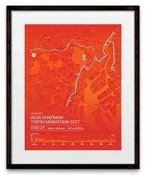 Tokyo Marathon Elevation Chart 12 Best Map Images In 2019 Map Marathon Posters Marathon
