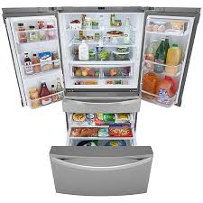 kenmore elite fridge. 046072483000 kenmore elite 72483 29.9 cu. ft. 4-door bottom-freezer fridge
