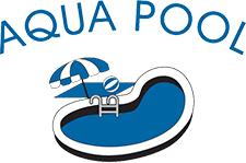 pool service logo. Aqua Pool Logo Service
