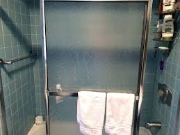 hard water stains on glass how to clean glass shower doors with hard water stains wonderful