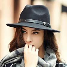 Womens fedora hat british style autumn winter Jazz hats | Buyhathats.com