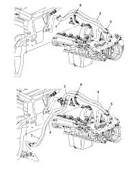 4 7l engine 2006 jeep mander heater hoses thumbnail 2
