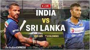 India vs Sri Lanka 2nd ODI Live Cricket ...