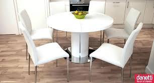 modern white round dining table round white dining table and chairs white round dining table