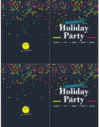 Design Party Invitations Holiday Party Invitation
