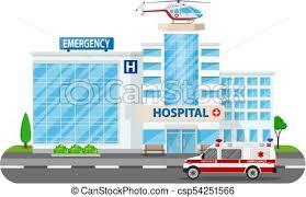 hospital building clipart. Simple Hospital Hospital Building Medical Icon  Csp54251566 And Building Clipart