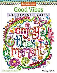 amazon good vibes coloring book is fun design books