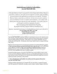 Medical Billing Job Description And Cover Letter Medical Coder