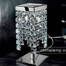 modern crystal table lamp for bedroom