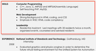... skills section of resume example resume template