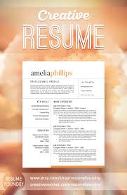 Elegant Resume Design That Organizes Your Information So That It