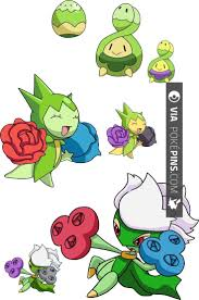 Like This Roselia Pokemon 406 315 And 407 Budew