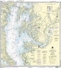 Nautical Charts Of Chesapeake Bay