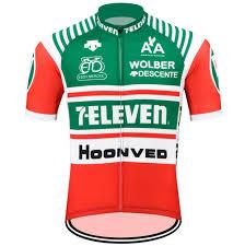 Retro 7 Eleven Descente Mens Cycling Jersey