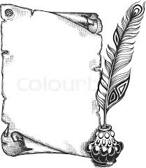 Image Result For Black And White Borders For A4 Size Paper
