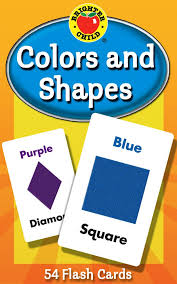 Amazon.com: Colors and Shapes Flash Cards (Brighter Child Flash ...