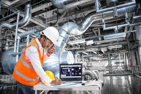 Electrical Engineer Working At Control Stock Photo Colourbox
