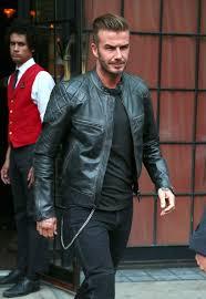 david beckham wears belstaff quilted leather biker jacket in nyc upscalehype