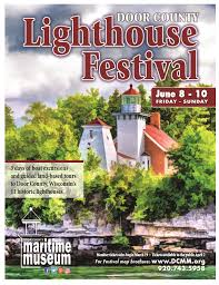 25th Annual Door County Lighthouse Festival - Door County Maritime ...