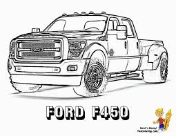 Cool Truck Coloring Pages Printable Coloring Pages
