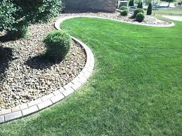 concrete landscaping edging