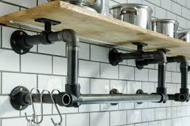 Caster Connection Clean Sweep Kitchen Pipe Shelving