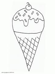 It's easy to download it or print it direct from your browser. 64 Ice Cream Coloring Pages Free Printable Pictures