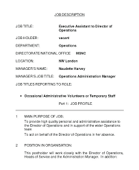 Job Description In Resume Sample Professional Housekeeper ...