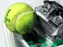 tennis get singed this one has been shot once diy ball launcher homemade for dogs remote fetch automatic tennis ball launcher for dogs diy homemade