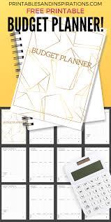 Budget Planner Worksheets 20 Free Printables Printables