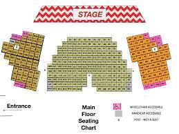 Hu Ke Lau Seating Chart Seating Info The Bradley Playhouse Accesibilty