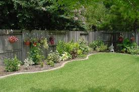 Landscaping Design Ideas For Backyard Interesting Simple Backyard Landscaping Metalrus