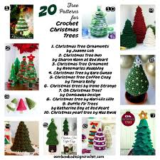 Crochet Christmas Tree Pattern Stunning 48 Free Patterns For Crochet Christmas Trees Oombawka Design Crochet